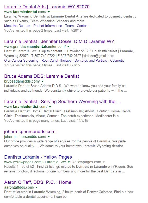 LaramieDentistRank